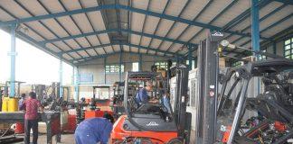 dịch vụ sửa chữa xe nâng hàng