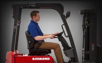 xe nâng điện raymond